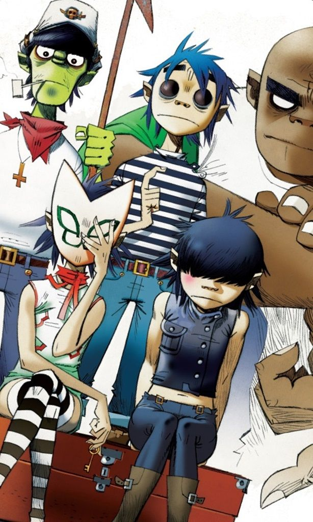 All Together for Phase 3 | GORILLAZ | Pinterest | Chang'e 3