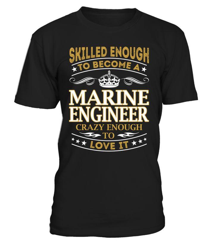 Marine Engineer - Skilled Enough To Become #MarineEngineer