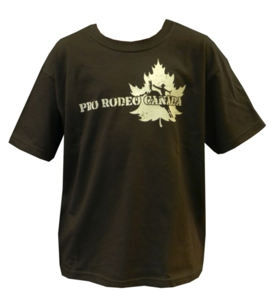 Youth CPRA Tee - Brown tee with tan CPRA screenprint on front. 100% Pre-Shrunk Cotton