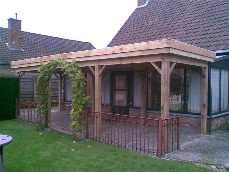 25 beste idee n over overdekte terrassen op pinterest pergola patio overdekte terrassen en - Overdekt terras in hout ...