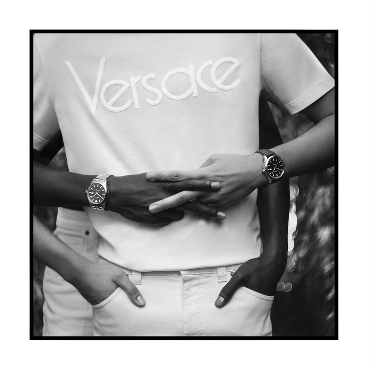 V is for victory.  #VforVersace #VersaceManifesto #VersaceWatches  Shop now through the link in bio.