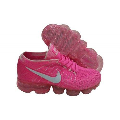 sale retailer 2aa0c 4a8af Femme Nike Air VaporMax Rose Rouge Solde