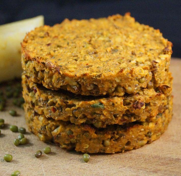 Hambúrguer de cenoura e ervilha - porque hambúrguer feito em casa é muito mais saudável!