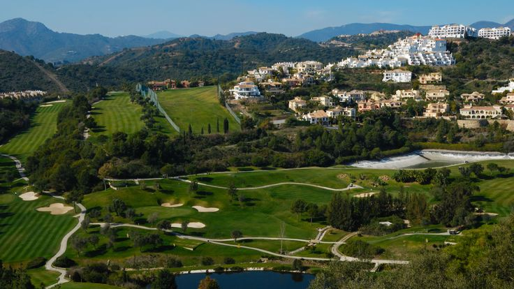 Campos de golf en Marbella, Málaga, España