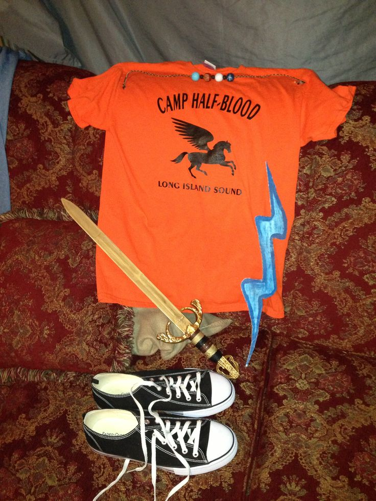 Percy Jackson Halloween Costume