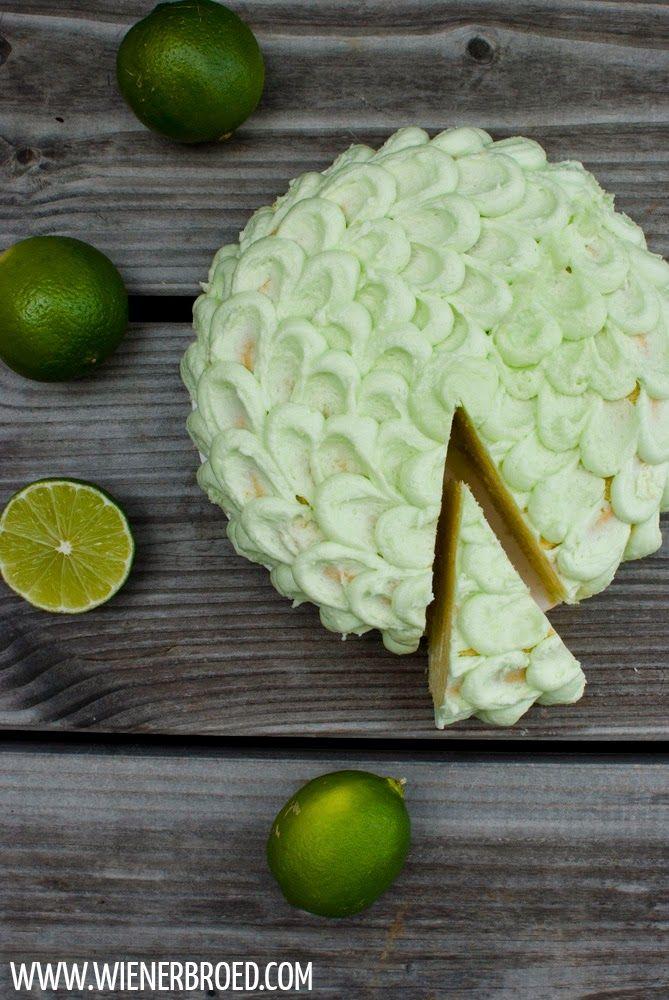 Caipirinha-Torte / Caipirinha cake [wienerbroed.com] #ichbacksmir #torte