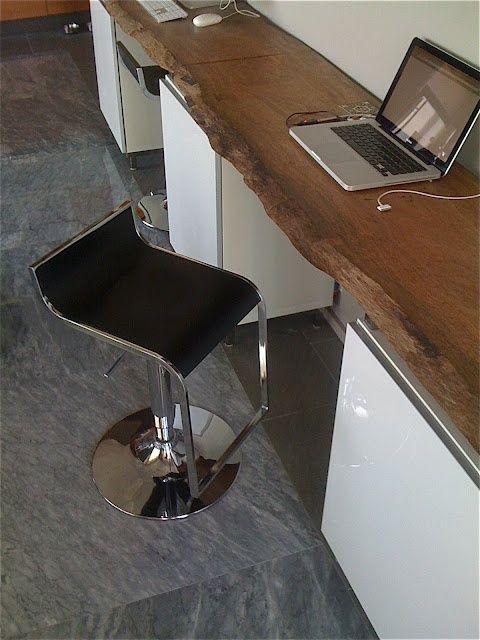 Muebles de tronco para un ambiente rústico