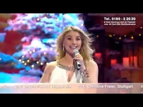 Beatrice Egli - Jingle Bells (ZDF-Die schönsten Weihnachts Hits) 2014 - YouTube