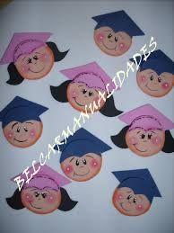 Resultado de imagen para graduandos en foami