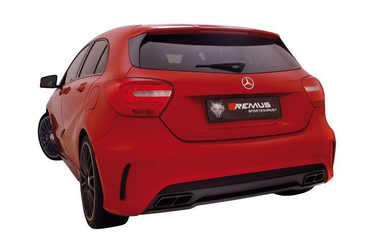 Powerizer REMUS INNOVATION dla Mercedes-Benz A 45 AMG!  Twój sportowy Mercedes mógłby mieć więcej mocy? Oczywiście, że tak! Wystarczy zdać się na Wilka!  Pakiet mocy Remus sprawia, że moc AMG wzrasta do 405 KM a moment obrotowy do 518 Nm! Wszystko to w pełni bezpiecznie i bezinwazyjnie! Zaufaj Wilkowi, bądź szybszy już teraz!  Remus Polska http://www.remus-polska.pl/