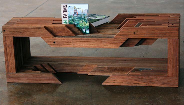 modern reclaimed wood furniture 3