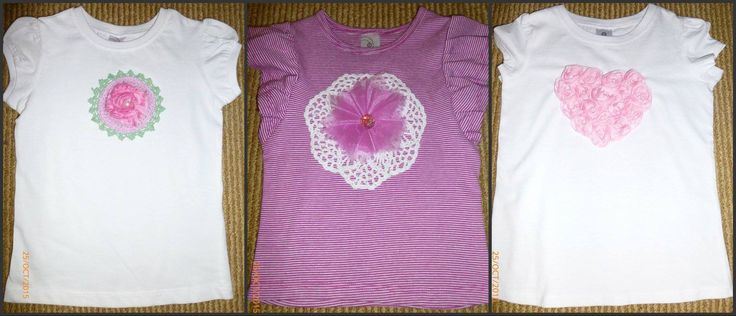 Handmade by Deborah for The Sherbet Fountain Gorgeous appliqued Spring into Summer t-shirts for your little girls. For more information, please visit https://www.facebook.com/HandmadeMarkets