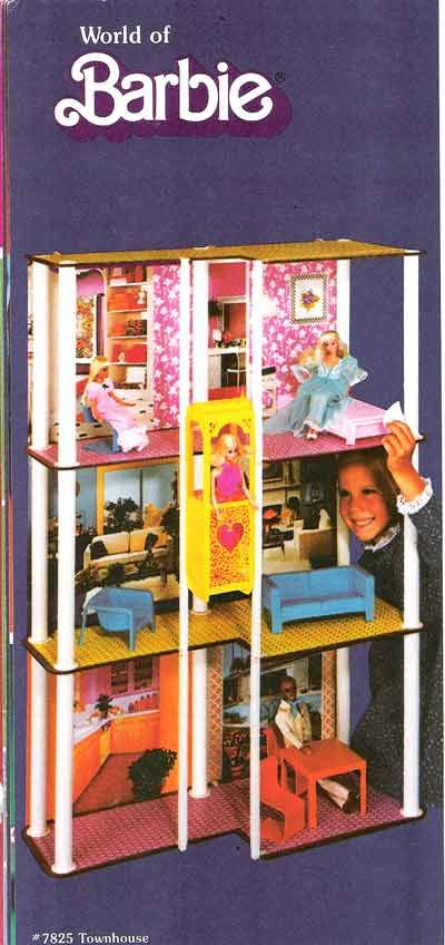My Barbie Townhouse rocked!!! It took my Dad and a neighbour four hours to build it for me one Christmas Eve! Good memories.