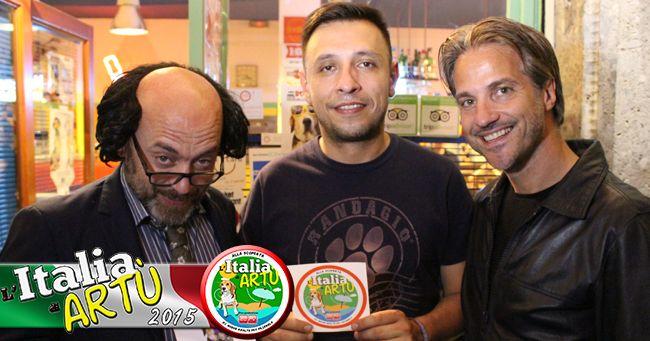 L'Italia di Artù consegna il bollino a PIZZA OK2 a Milano