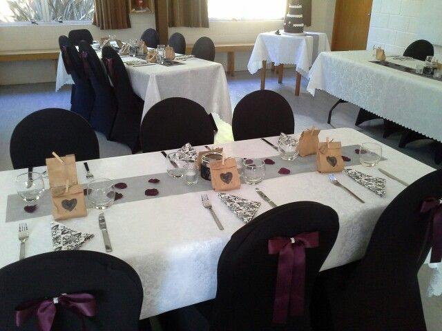 Omatua Girl Guide Camp all set up for Kendra & Corey wedding in sunny Hawkes Bay NZ