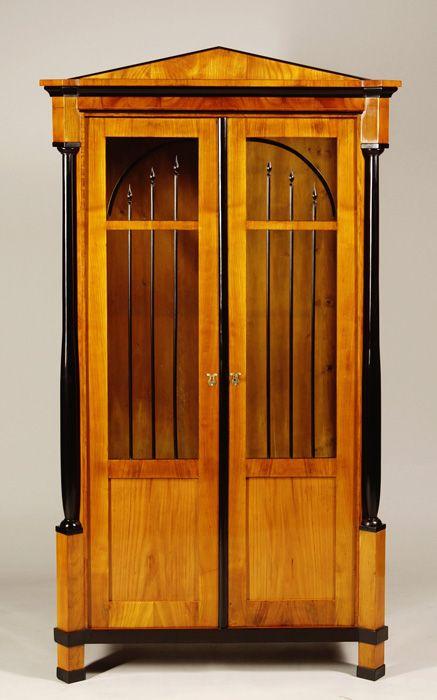 A petite Biedermeier bookcase