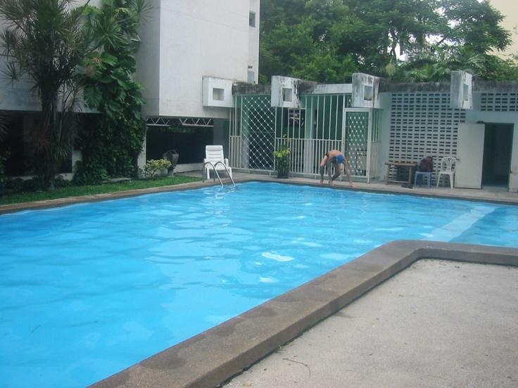 Pool, Pitak Court Bangkok