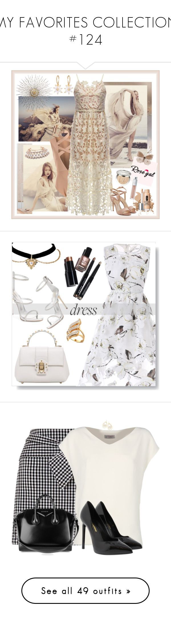 """""""MY FAVORITES COLLECTION #124"""" by lwilkinson ❤ liked on Polyvore featuring Paul Andrew, Christian Dior, Bobbi Brown Cosmetics, Clinique, Dolce&Gabbana, Giuseppe Zanotti, dress, formal, MyStyle and polyvorecontest"""