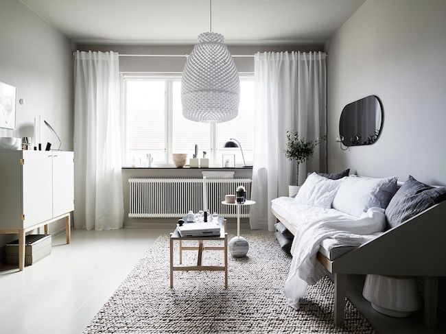 A beautiful Swedish space in calm greys