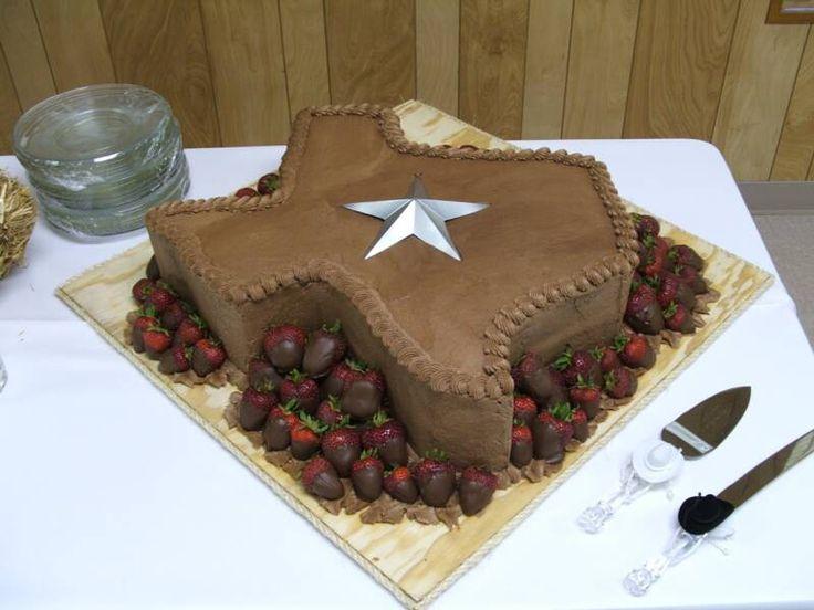 Texas Groom Cake