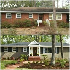 Best Images About Update Exterior On Pinterest Front Porch
