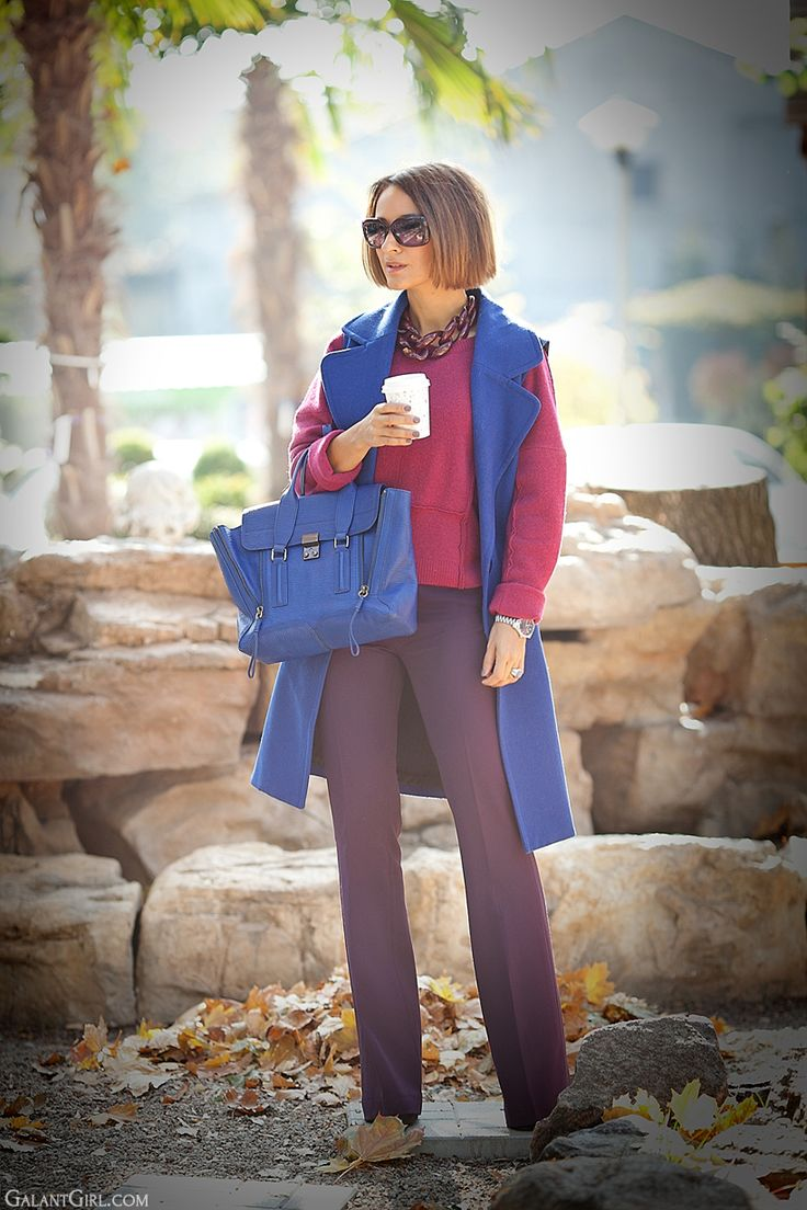 fall colors of outfit on GalantGirl.com