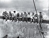 100 influential images of all time - Lunch Atop a Skyscraper