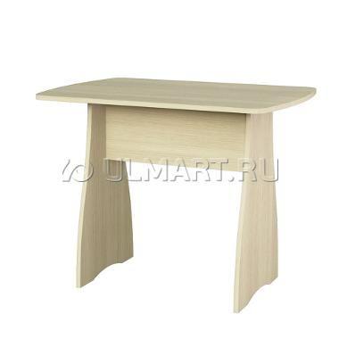 фото: Стол обеденный Комфорт 2, цвет  Дуб Молочный