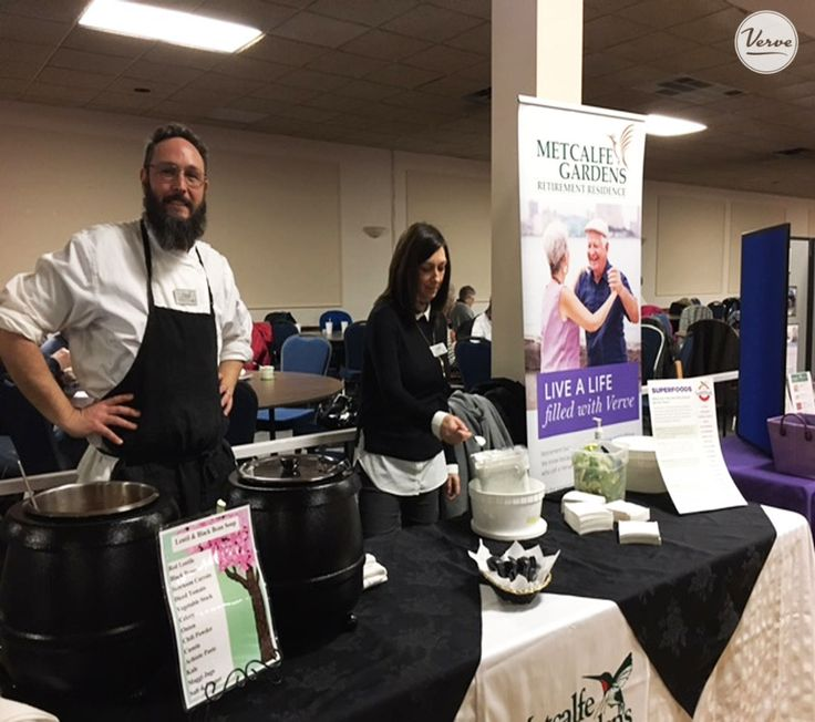 Metcalfe Gardens staff and residents had a blast supporting the Heart & Stroke Foundation at the annual Soup's On competition.