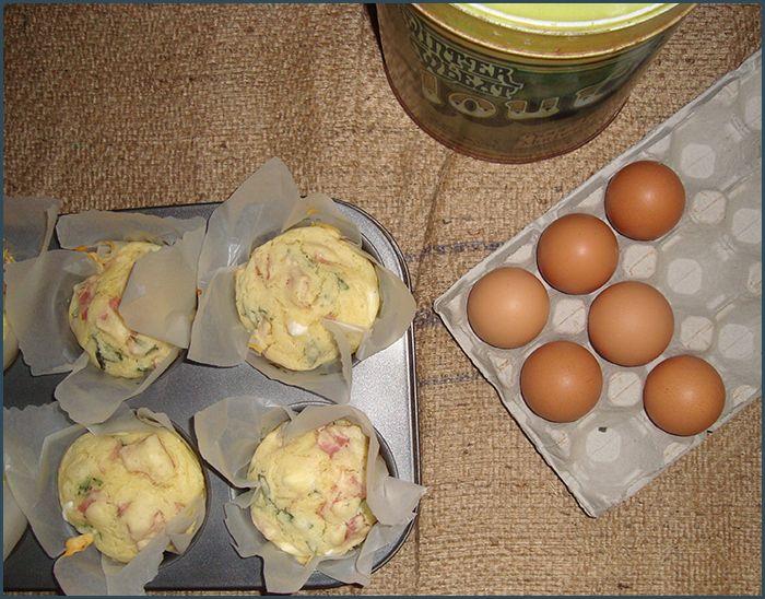 ham-basil-feta-muffin-1   Recipes   Pinterest   Feta, Muffins and ...