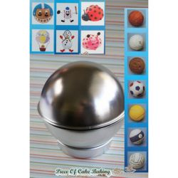 Home > Moulds  Trays > 3D Sports Ball Cake Pan