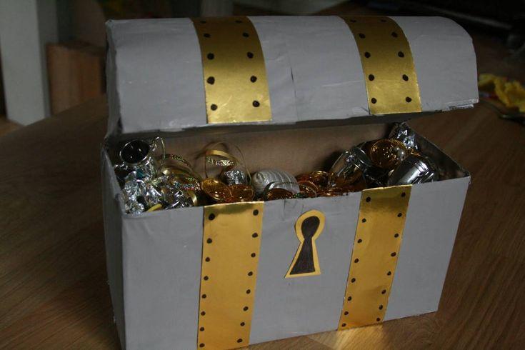 Пиратский сундук с сокровищами - Реквизит - Костюмы, реквизит, декорации - Каталог статей - Устроим праздник! Праздники дома