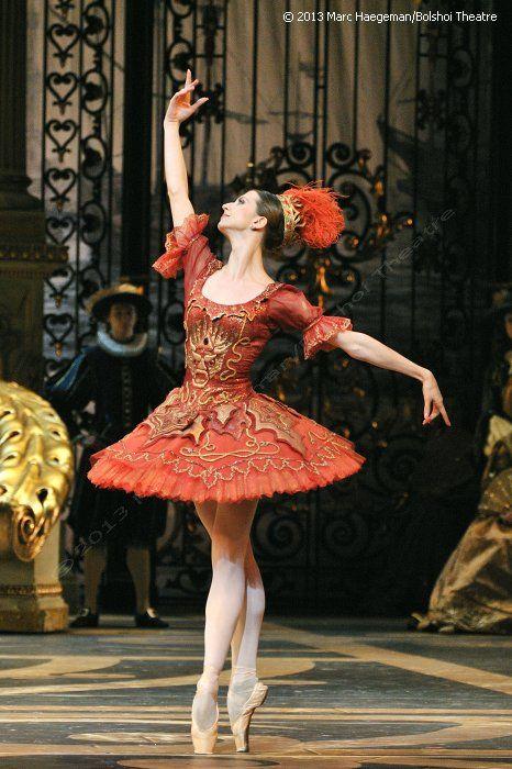 The Bolshoi in London 2013 Anna Tikhomirova