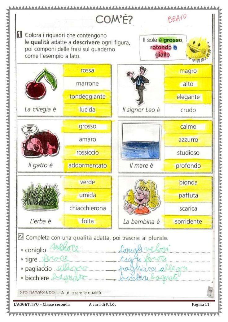 L'aggettivo qualificativo | PDF Flipbook