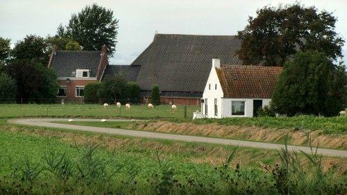 Het gehucht Lutje Marne nabij Breede: dit witte huisje aan de Juffer Marthastraat stond in de jaren '80 van de vorige eeuw op de achterkant van de Brinta-havermoutpakken. Het huisje staat ook in het Brinta-boek 'Niemand de deur uit zonder Brinta', dat in 2005 is verschenen.<br>De 'Brinta'-ontbijtpap (gemalen tarwe met o.a. wat zout) werd tot 2005 door Avebe in Foxhol geproduceerd. Brinta ('Breakfast Instant Tarwe') werd daar al sinds 1947 gemaakt, maar fabrikant Heinz verhuisde de productie…