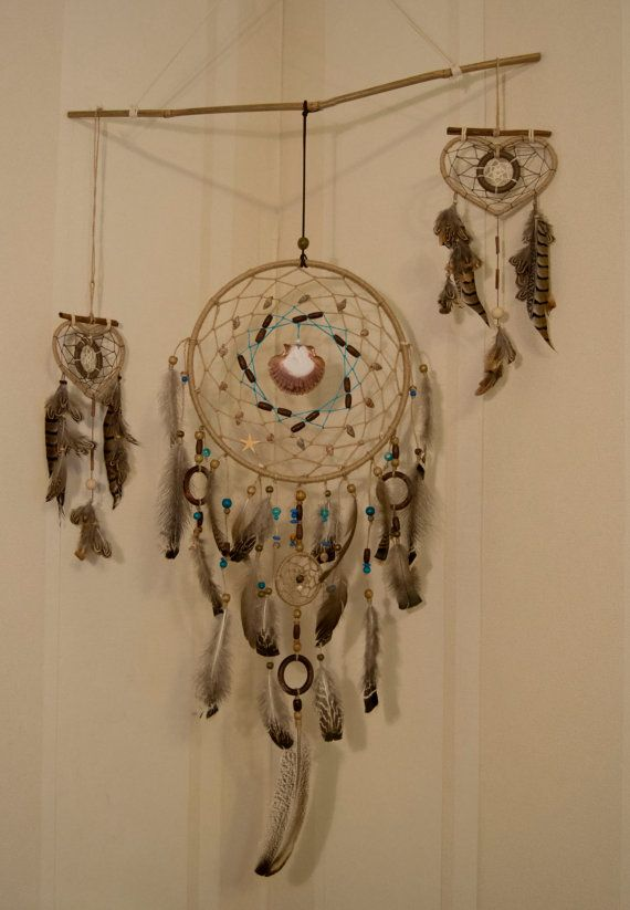 Brown Dream Catcher Large  Dream Catcher by MagicalSweetDreams