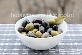 #Olives. Masline negre, masline verzi