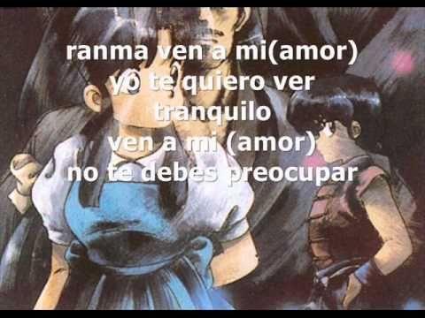 Ranma 1/2 Ending Latino Letra - YouTube
