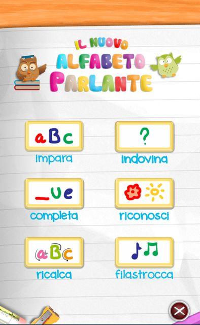 Alfabeto Parlante: App da scaricare (iOS - Android )