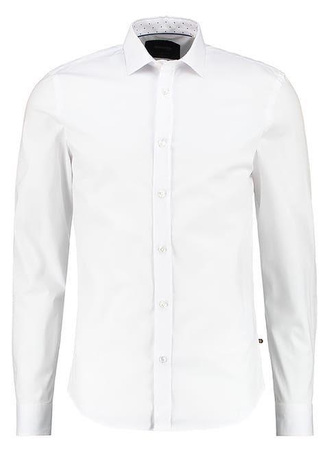 BONOBO Jeans CLASSICH SLIM FIT  - Koszula biznesowa - bright white za 129 zł (30.03.17) zamów bezpłatnie na Zalando.pl.