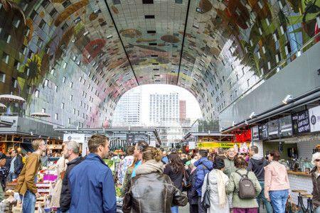 Markthal Rotterdam Overview