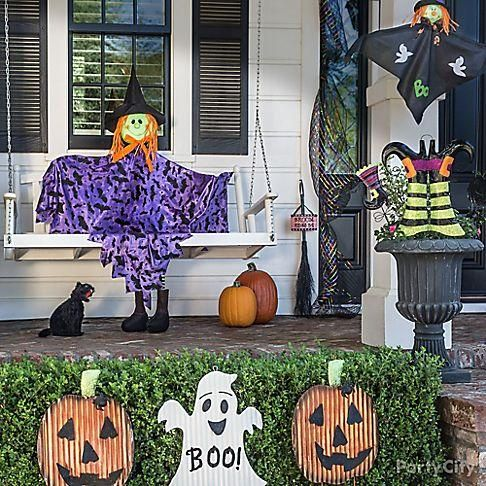 kid friendly halloween decorations friendly ghosts jack o lanterns