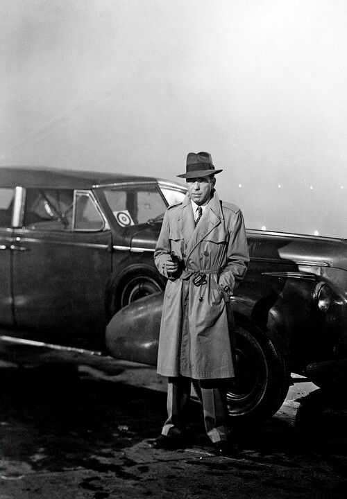 Humphrey Bogart ~ the final chapter of CASABLANCA