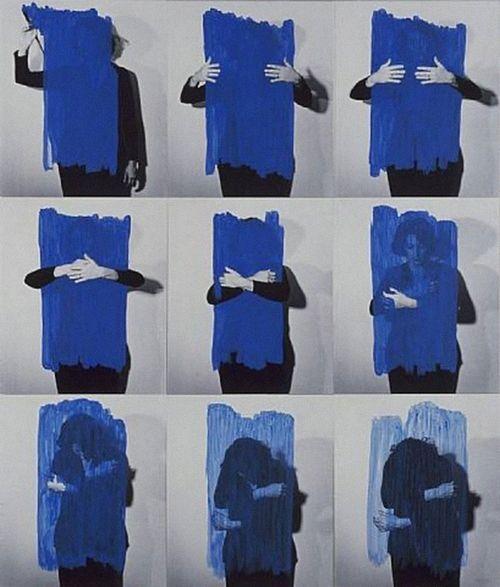 Helena Almeida #art #paint #fashion