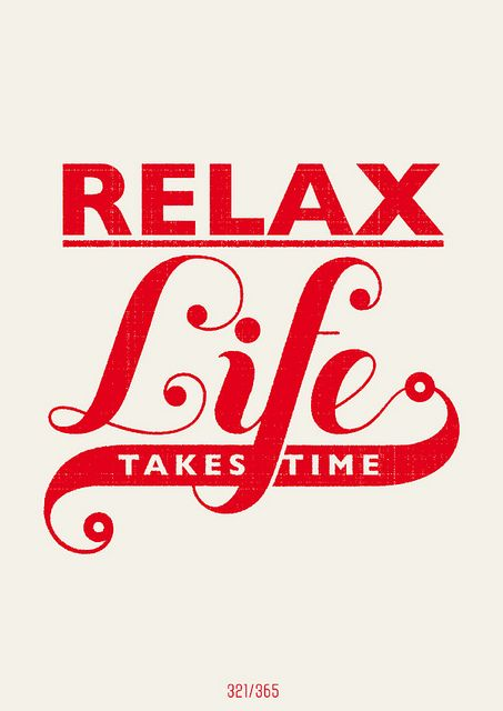 Hannes Beer Illustration - Relax. Life takes time.
