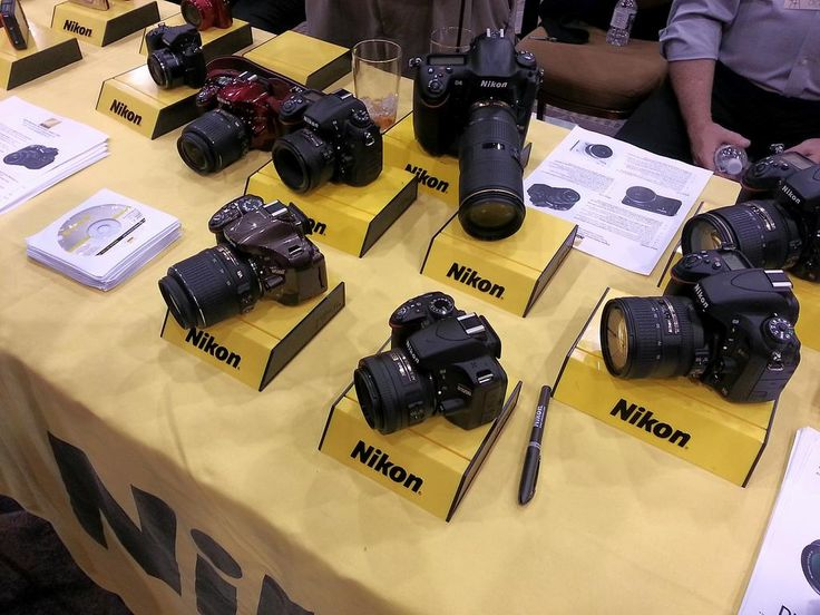 Nikon DSLRs. #2013ces