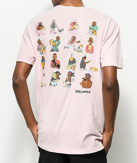 906e09d41 Dog Limited Rappers With Puppies Pink T-Shirt in 2019 | xmas list ...
