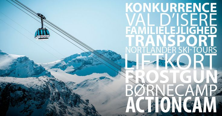 Vind familierejse til Val d'isere for 4 personer!