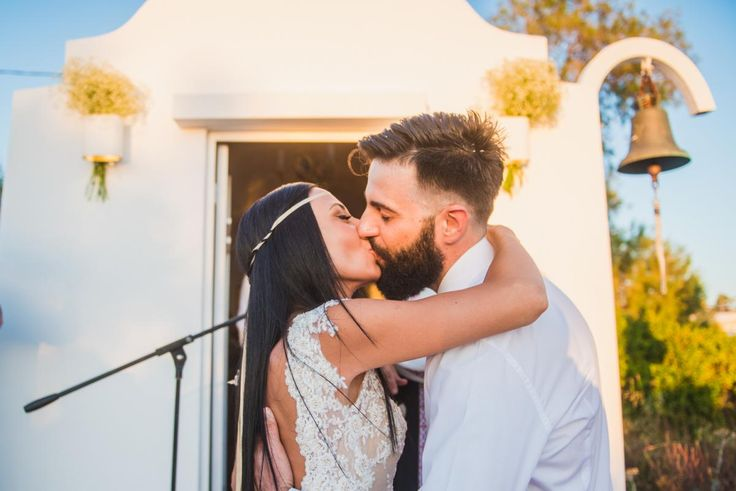 'WE DO' couple kiss love orthodox wedding| lafete