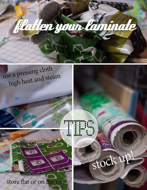flatten-your-laminate by mamaturtle, via Flickr
